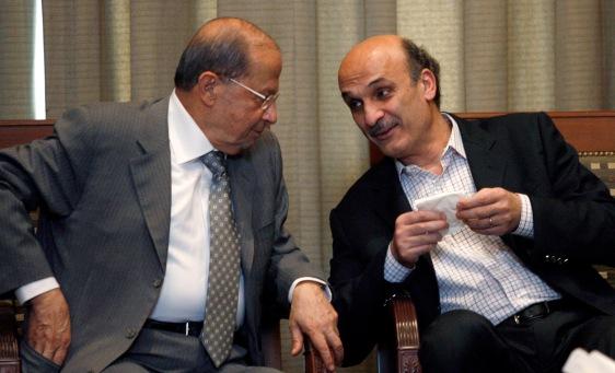Bitter Friends and Rivals, Aoun and Geagea